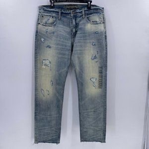 AE made to last light destroy wash jeans 36x32 NWT